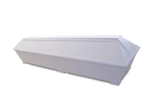 Valkoinen puuvilla-arkku